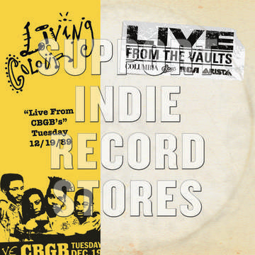 LIVING COLOUR -Live at CBGB''s 12.19.89