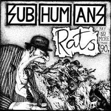 Subhumans - Time Flies + Rats LP