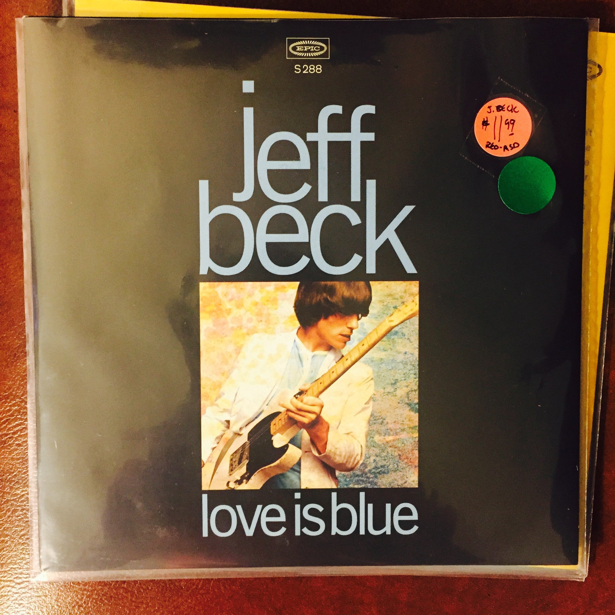 "Jeff Beck - Love is Blue/I've Been Drinking 7"" (RSD 2015)"
