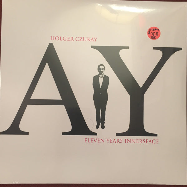 "Holger Czukay - Eleven Years Innerspace 2x10"" - Founding Member Of Can"