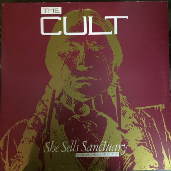 "The Cult - She Sells Sanctuary (Maxi-Single-Howling Mix and 12"" Mix)"