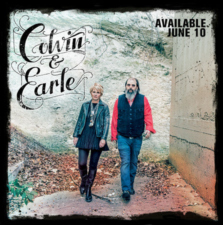 Colvin & Earle - S/T LP
