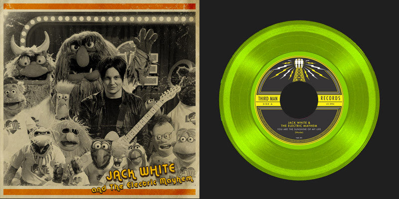 Jack White & The Muppets - You Are The Sunshine Of My Life 7""