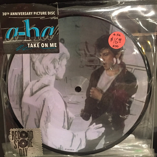 "A-Ha - Take On Me RSD 2015 7"" - Picture Disc"