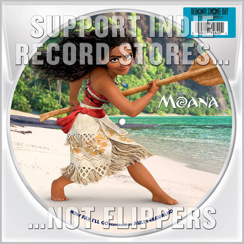 "Various Artists - How Far I''ll Go (From ""Moana"") 10"" Picture Disc (RSD 2017)"