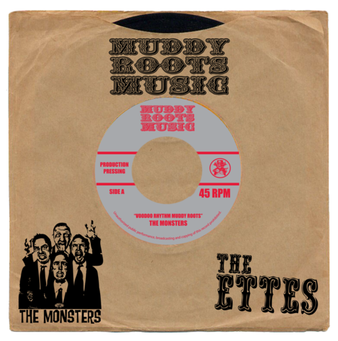 "The Ettes/The Monsters Split 7"" Single"