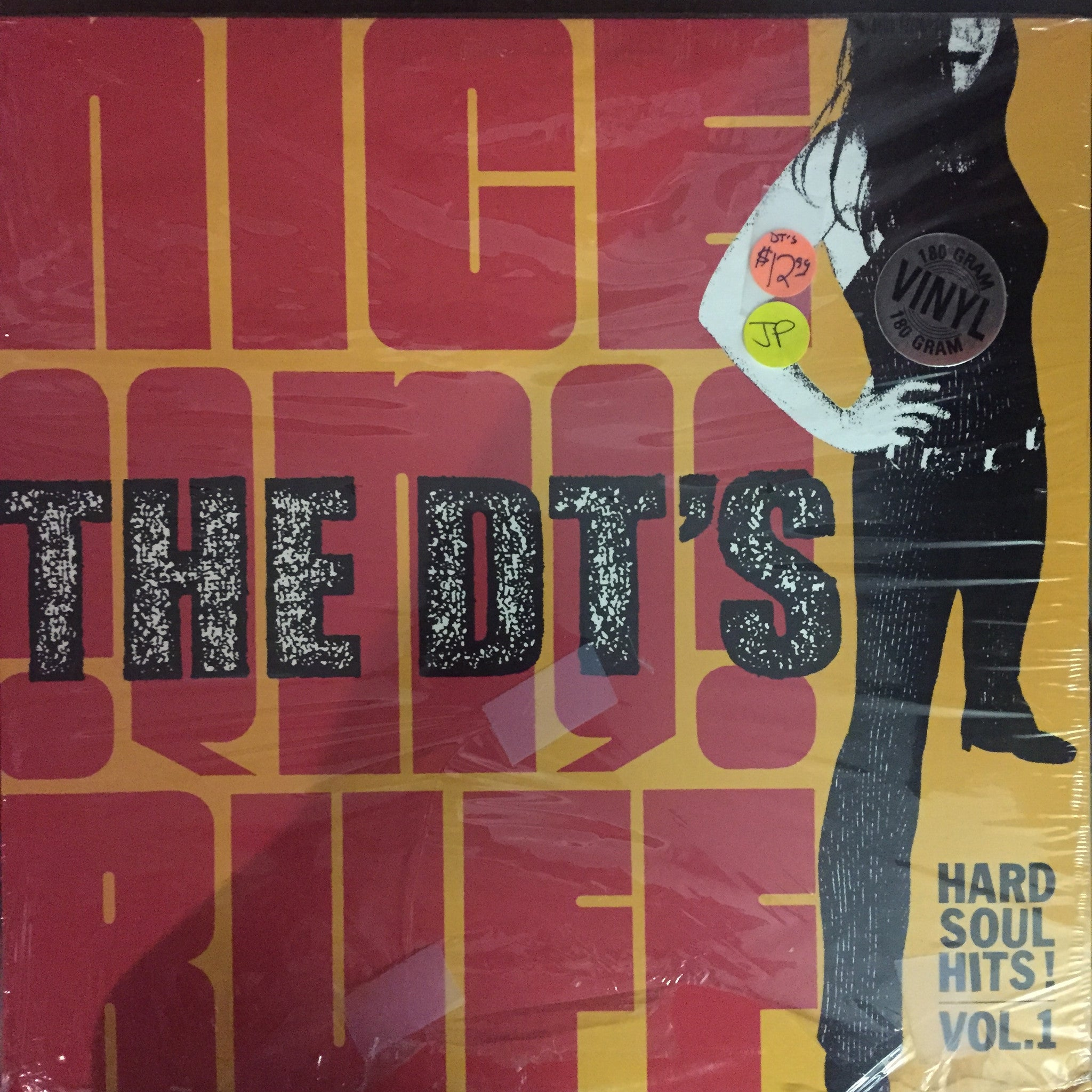 The DT's - Nice 'n' Ruff-Hard Soul Hits! Vol. 1 LP (GH-1136 - New and Sealed)