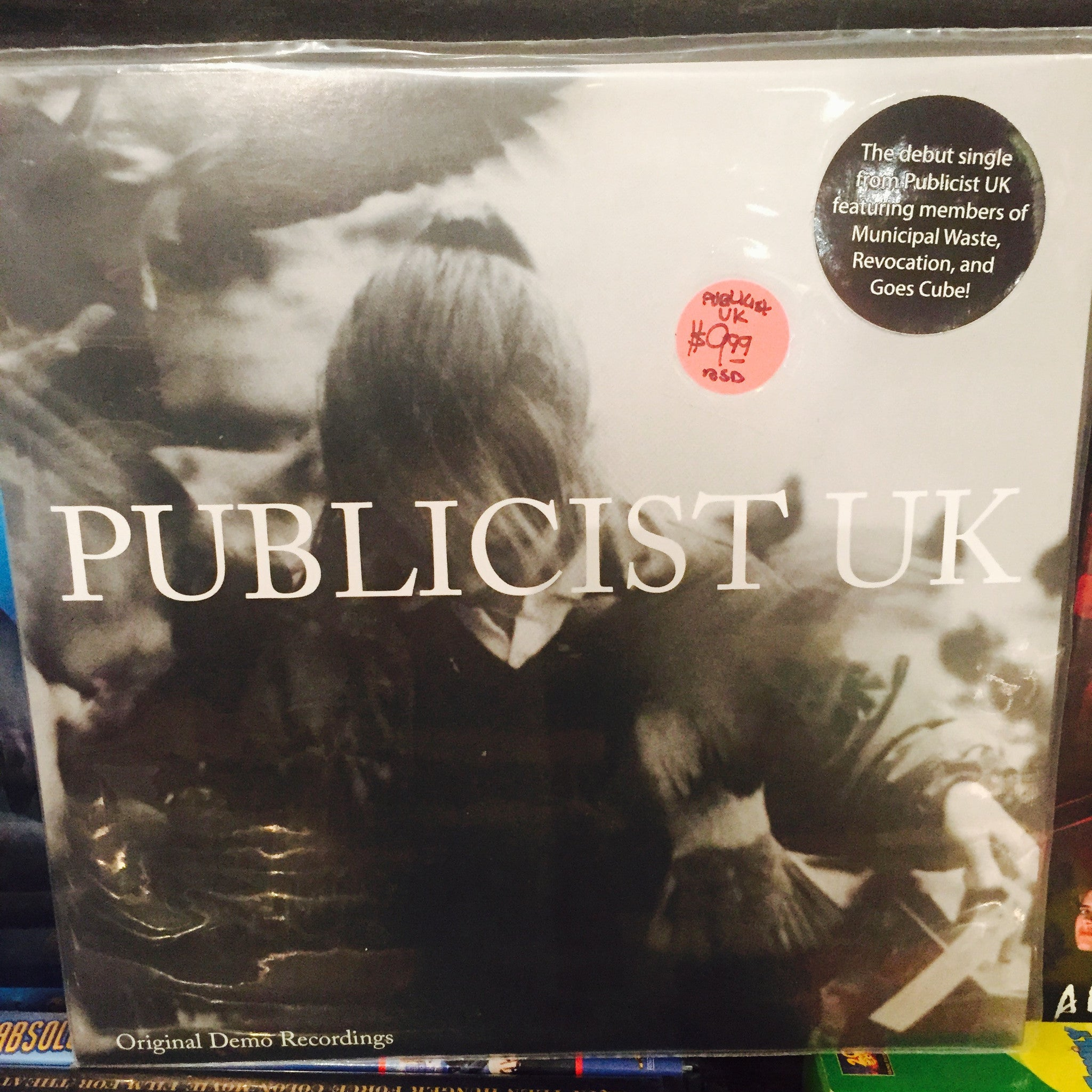 "Publicist UK - Original Demo Recordings 7"" (RSD 2015)"