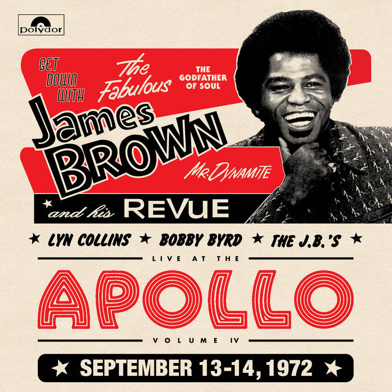 James Brown - Get Down At The Apollo With The J.B.'s 2xLP