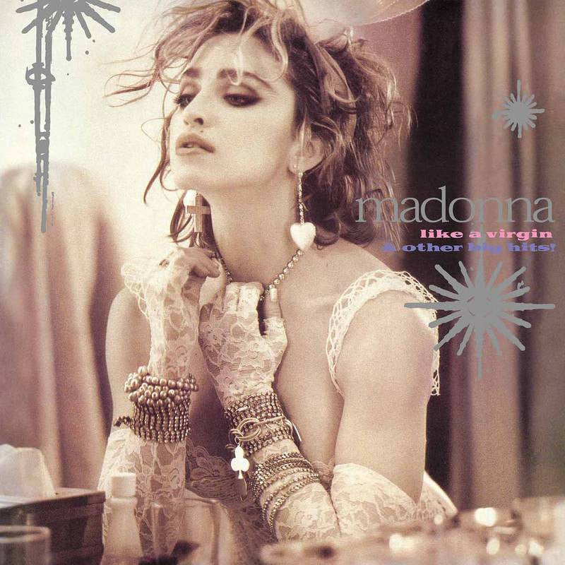 "Madonna - Like A Virgin & Other Big Hits! Color Vinyl 12"" Single"