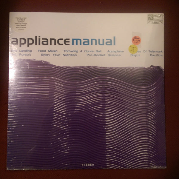 Appliance - Manual LP NEW/SEALED LTD. EDITION