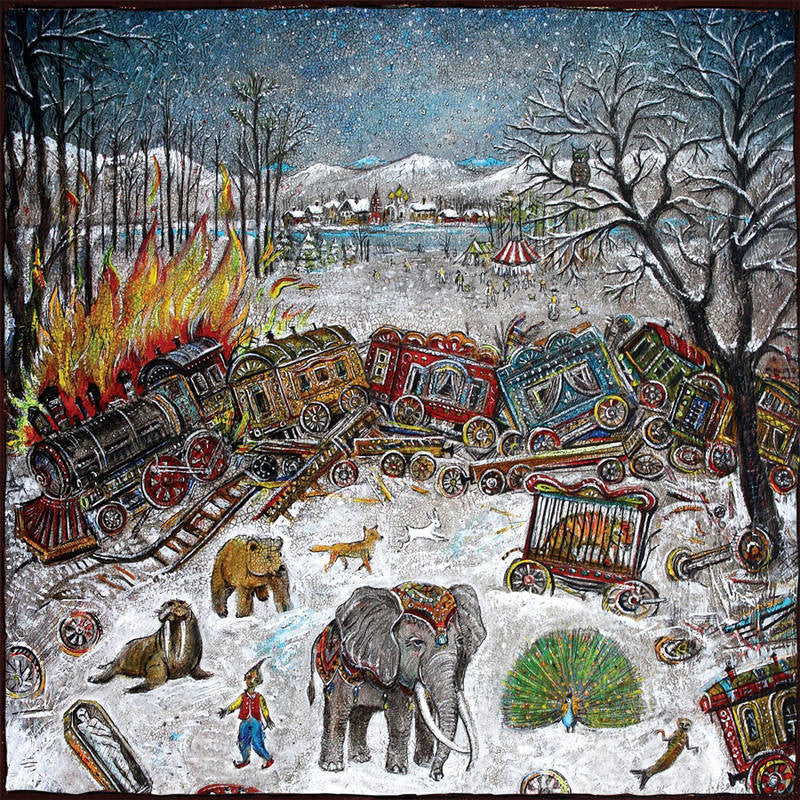 Mewithoutyou - Ten Stories LP (Color Vinyl)