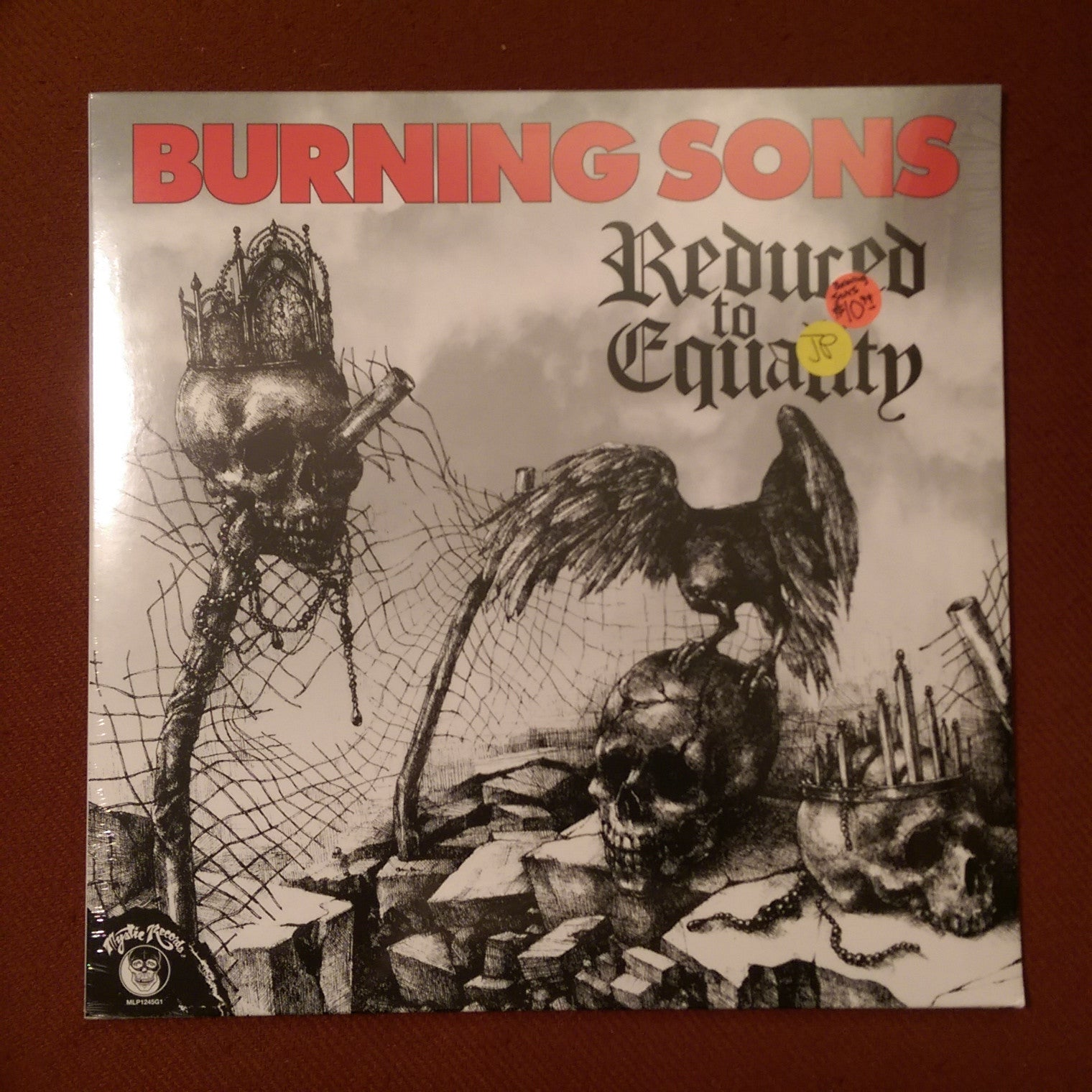 Burning Sons - Reduced To Equality LP NEW SEALED