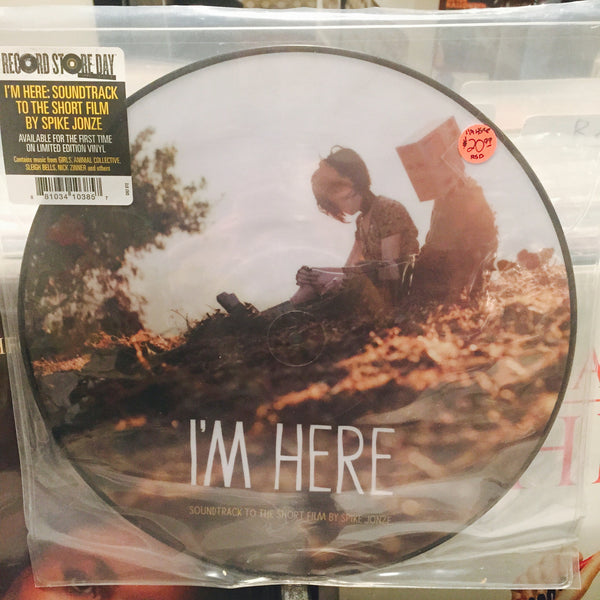 "Various Artists - I'm Here (A Soundtrack to the short film by Spike Jonze) 12"" Picture Disc LP (RSD 2015)"