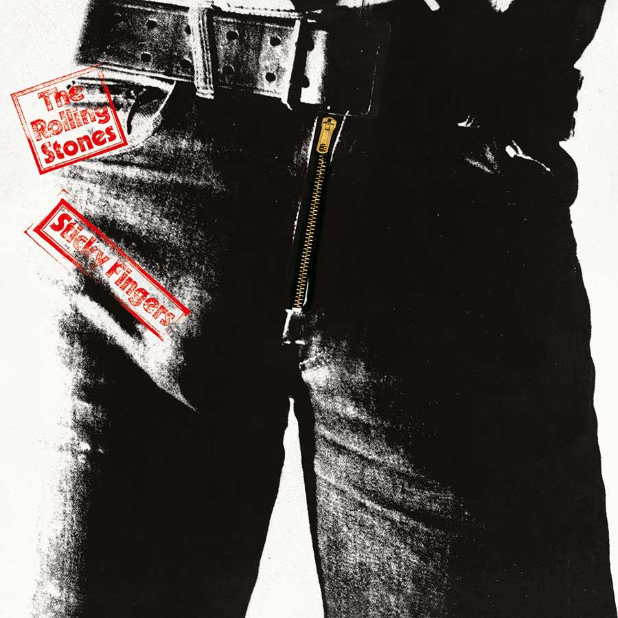 Rolling Stones - Sticky Fingers LP (Reissue - Original Album Version)