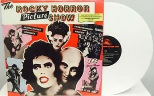 OST - The Rocky Horror Picture Show LP (White Vinyl, LTD to 1000)