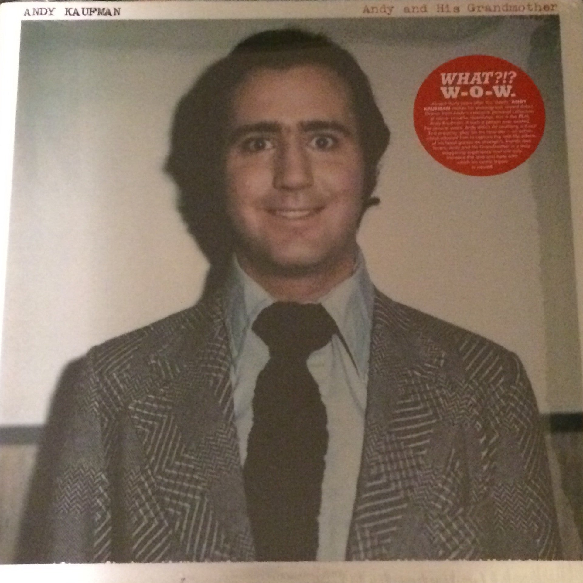 Andy Kaufman - Andy And His Grandmother LP