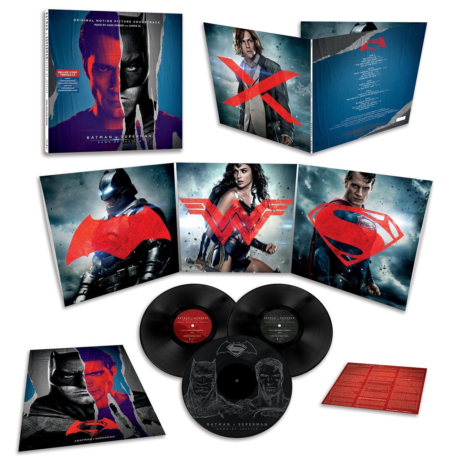 Hans Zimmer & Junkie XL - Batman Vs. Superman OST 3xLP