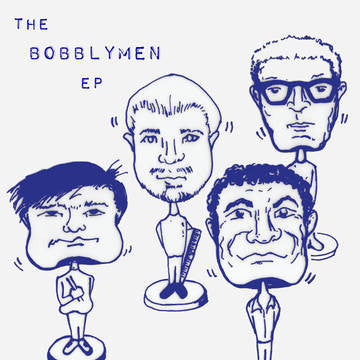 "Mike Watt + The Bobblymen - The Bobblymen EP 7"" RSD BF 2016"