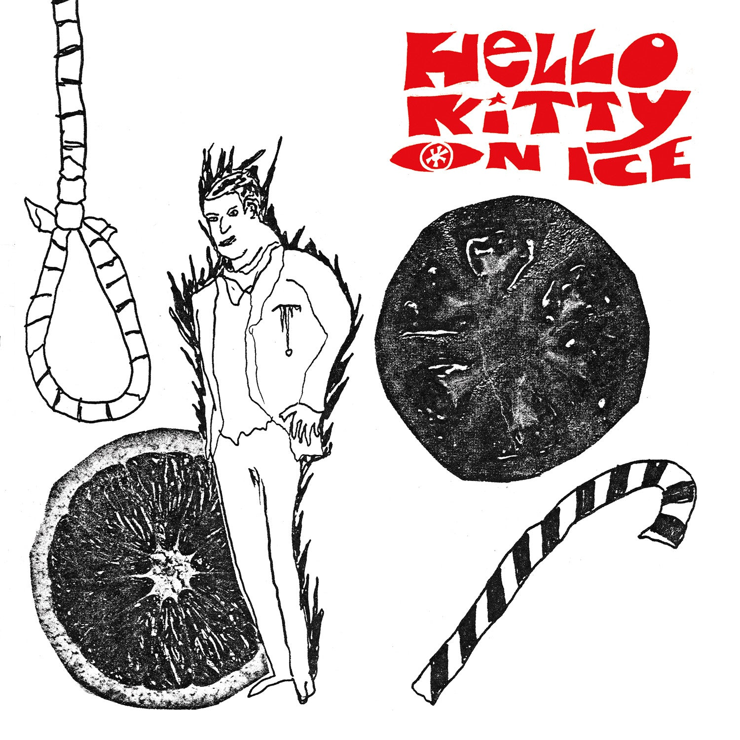 Hello Kitty On Ice - Man With A Hole In His Throat b/w The Answer 7""