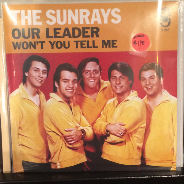 "The Sundays- ""Our Leader/Won't You Tell Me"" 7"" Single RSD 2014 New"