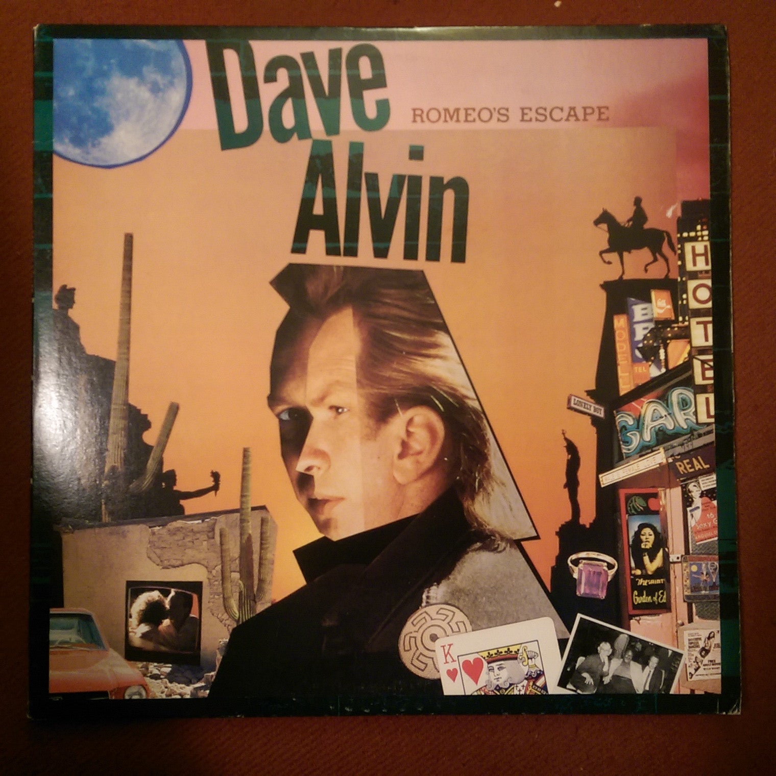 Dave Alvin - Romeo's Escape USED LP