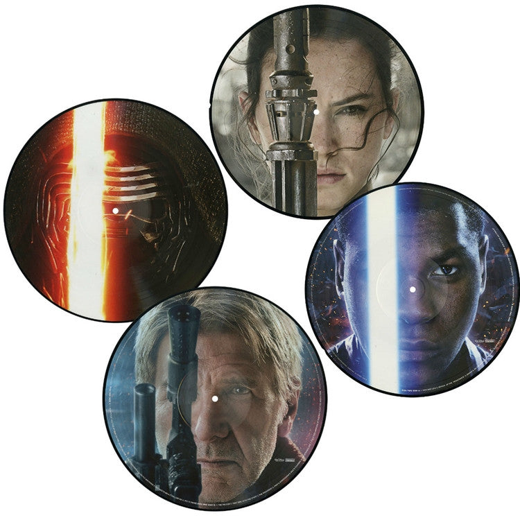 John Williams - Star Wars The Force Awakens 2xLP Picture Disc