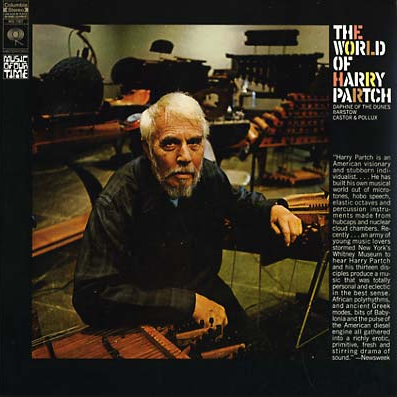 Harry Partch - The World Of Harry Partch LP (180 Gram)