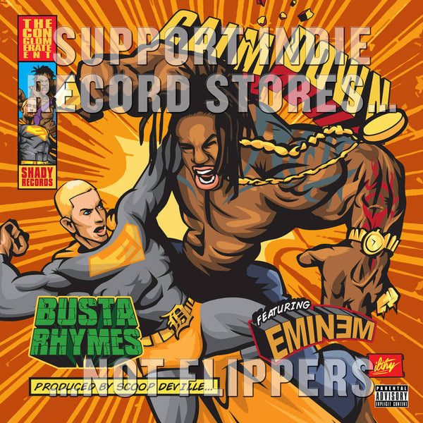 Busta Rhymes - Calm Down (feat. Eminem) (RSD 2017)