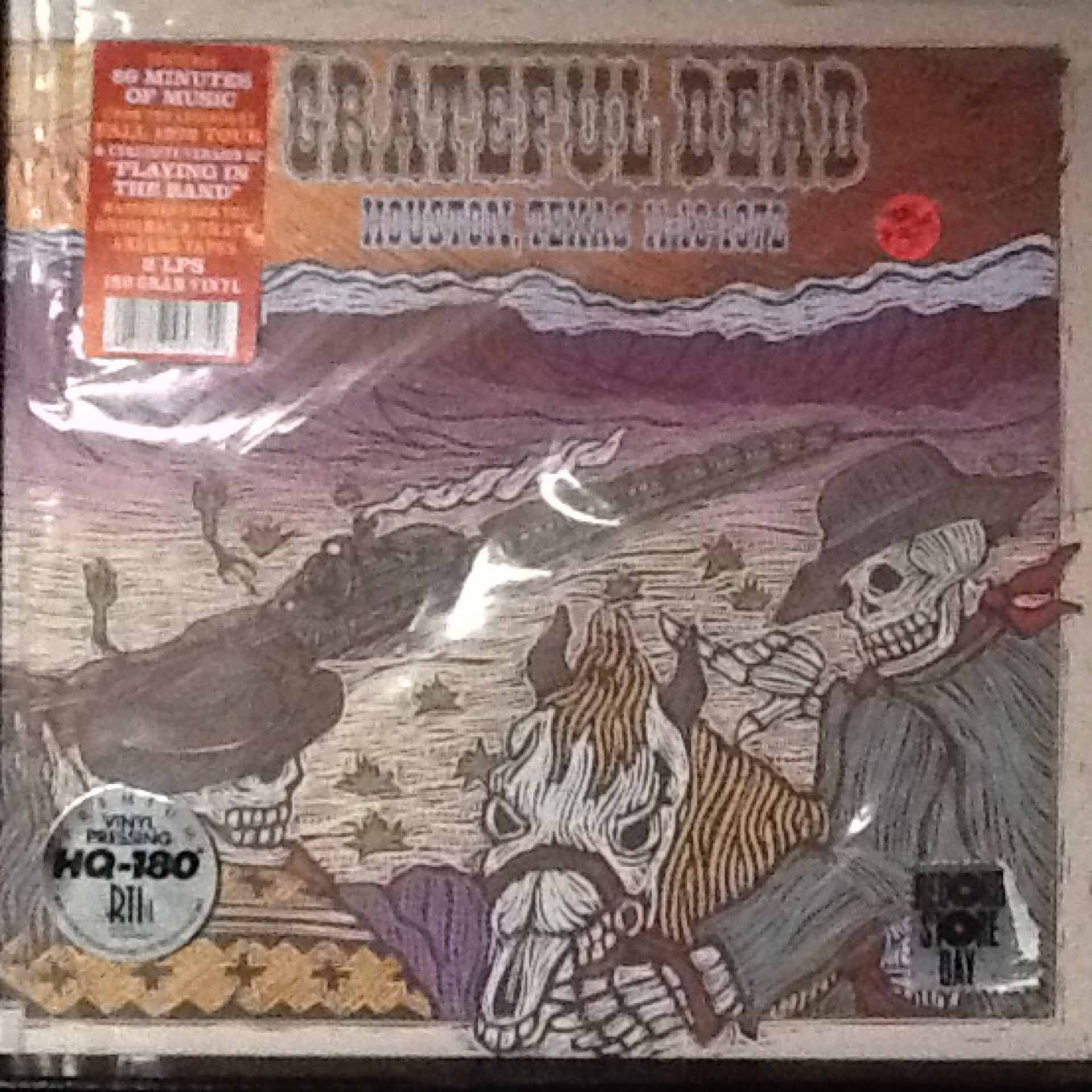 Greatful Dead - Houston, Texas 11-18-1972 LP