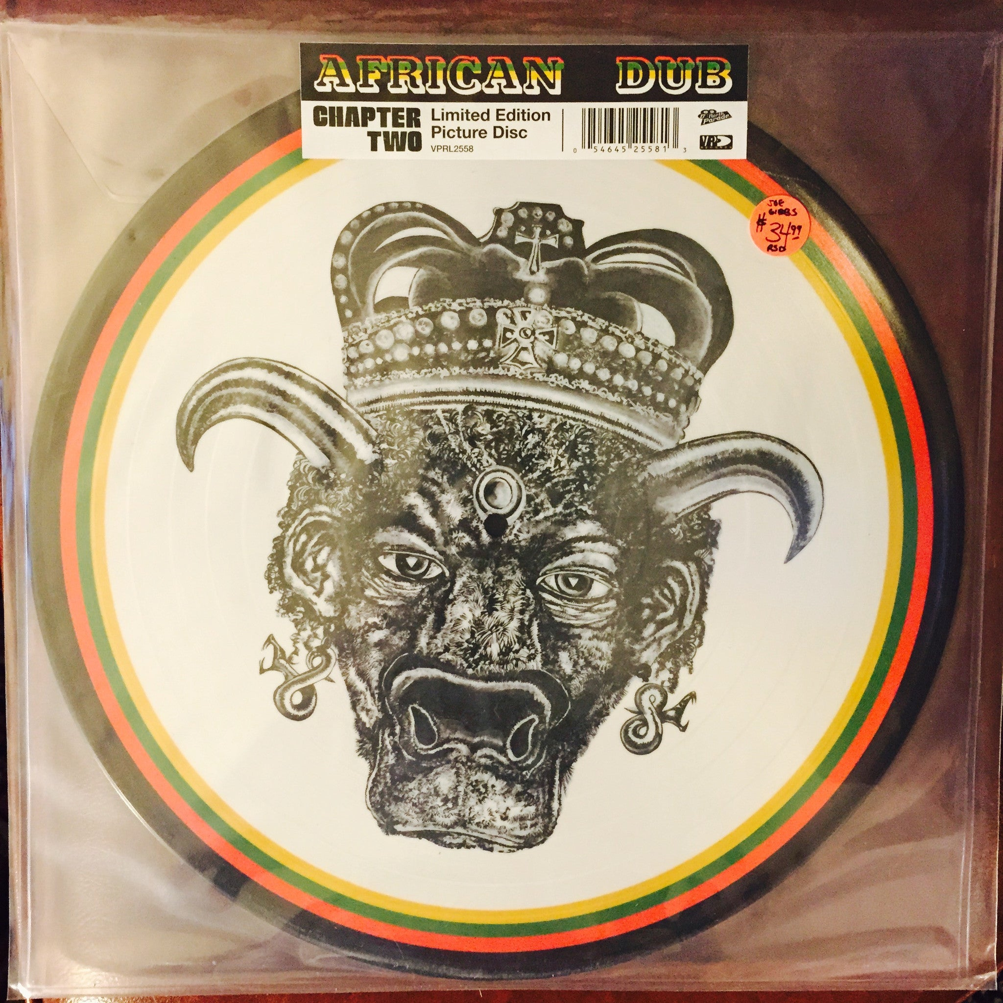 Joe Gibbs - African Dub Chapter Two Limited Edition Picture Disc LP (RSD 2015)