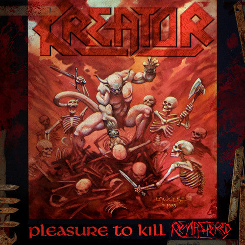 Kreator - Pleasure to Kill LP