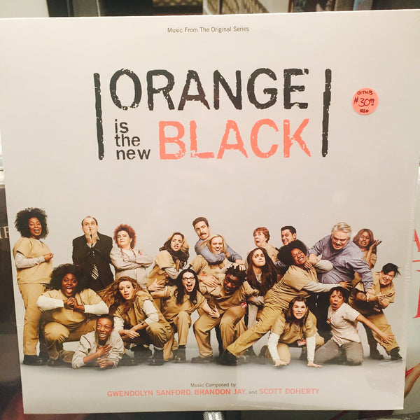 "Gwendolyn Sanford, Brandon Jay and Scott Doherty Orange is the New Black OST 12"" LP (RSD 2015)"