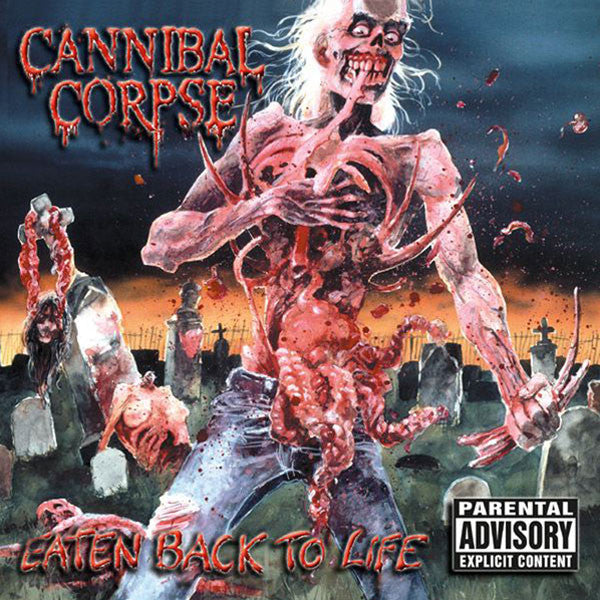Cannibal corpse - Eaten Back To Life LP