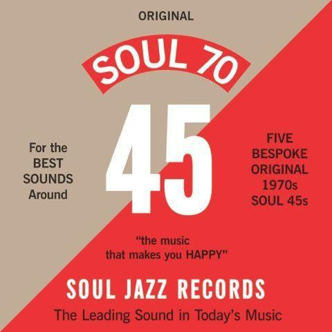 "VA - Soul Jazz Records Presents - SOUL 70 7"" Box Set (RSD 2017)"