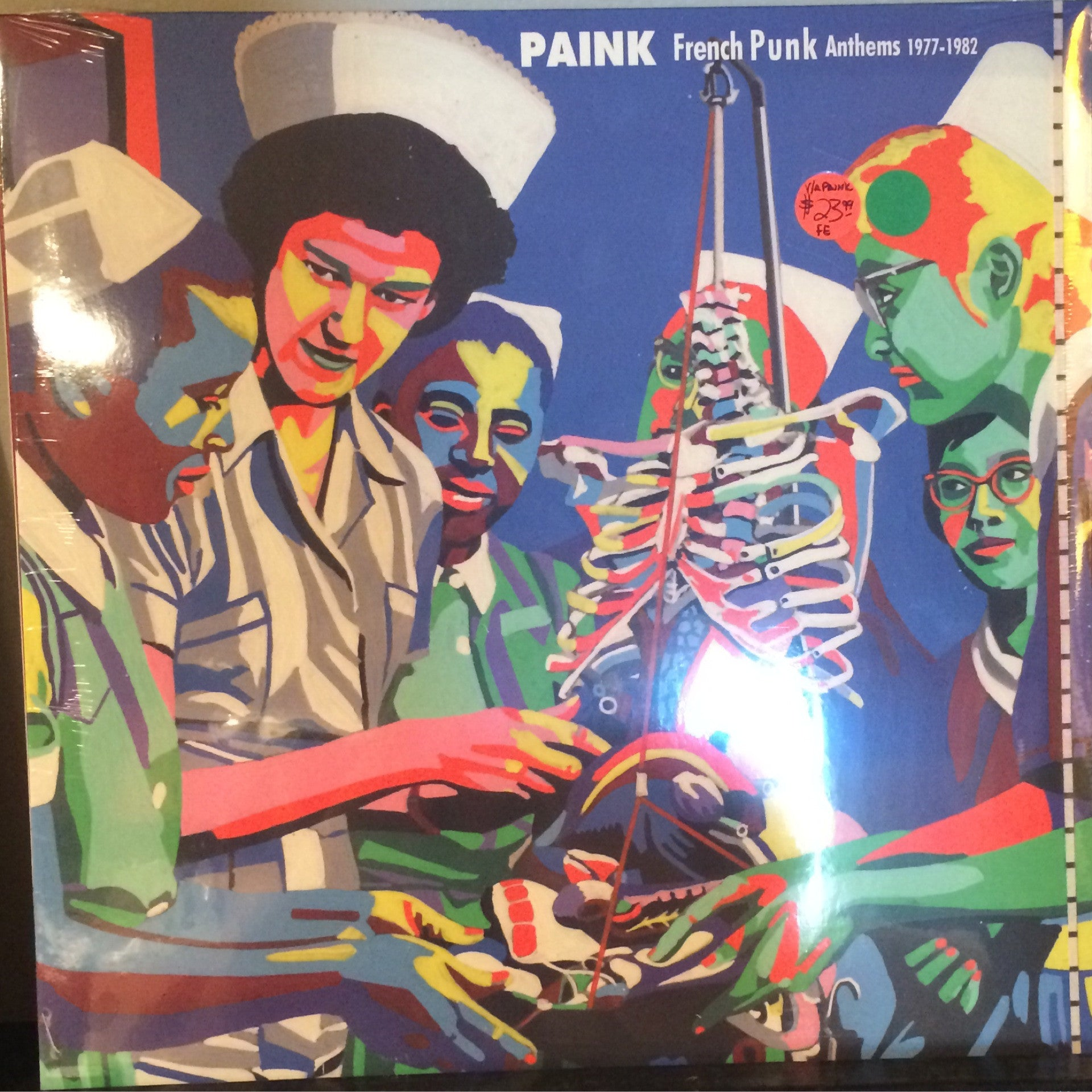 VA - Paink - French Punk Anthems 1977-1982 LP