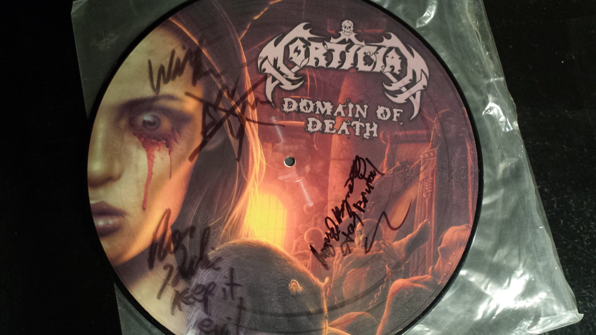 Mortician - Domain Of Death (Picture Disc) LP