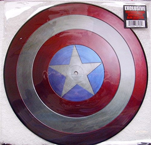 Alan Silvestri - Music From Captain America The First Avenger Pic Disc LP