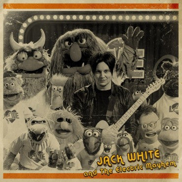 Jack White and the Electric Mayhem - You are the Sunshine of my Life 7""