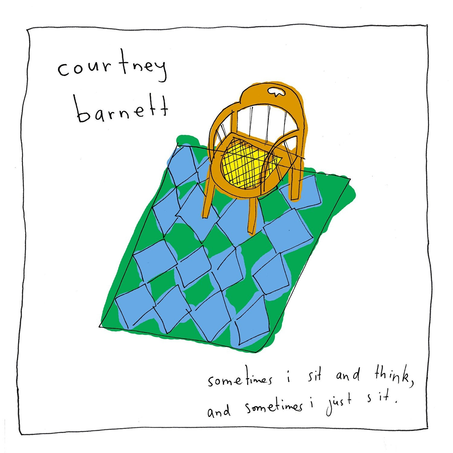 Courtney Barnett - Sometimes I Sit and Think and Sometimes I Just Sit (CSD)
