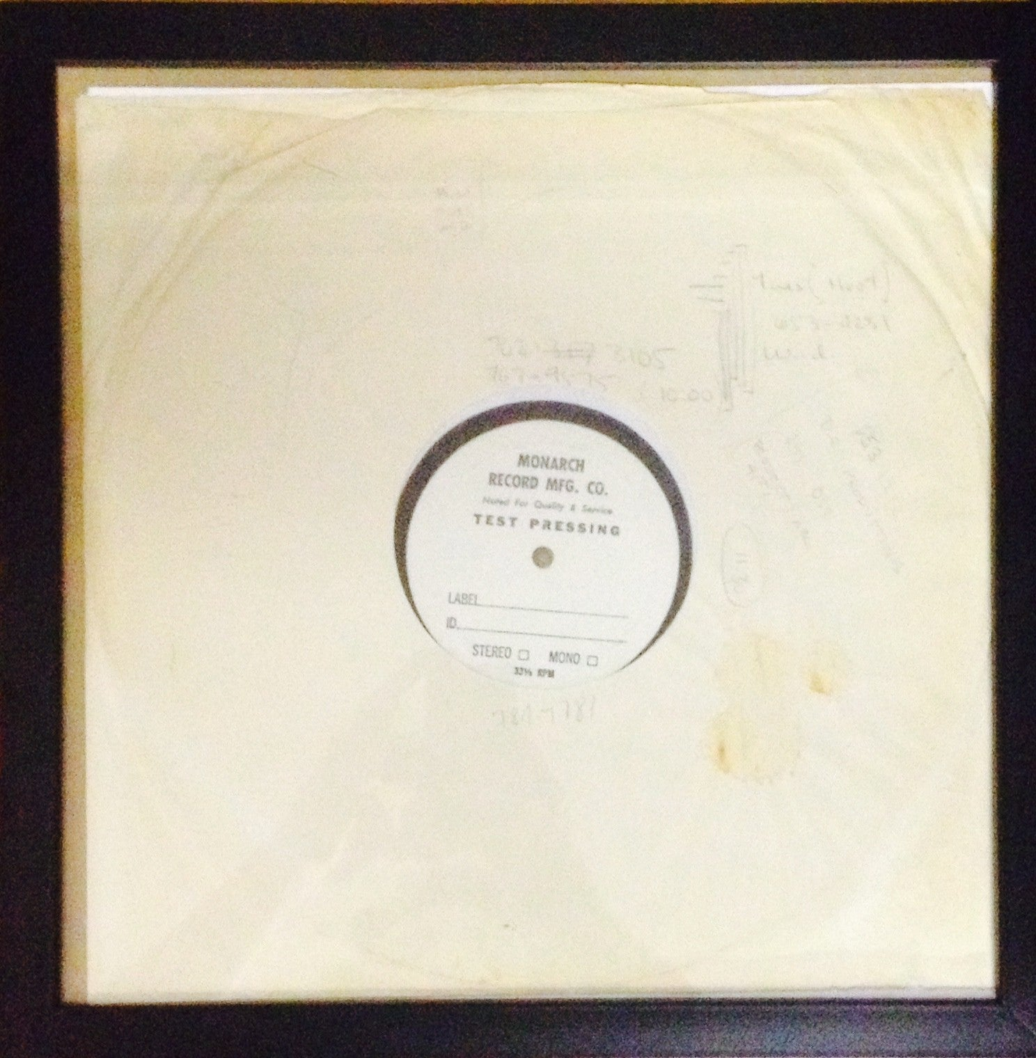 "Flying Burrito Brothers - ""Gilded Palace of Sin"" TEST PRESS! - 1969"