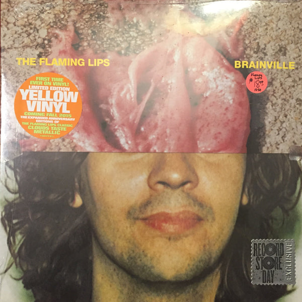"The Flaming Lips - Brainville 10"" - Yellow Vinyl"
