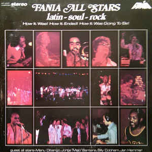 Fania All Stars - Live At Yankees Stadium LP