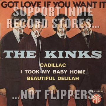 "The Kinks - Got Love If You Want It 7"" (RSD 2017)"