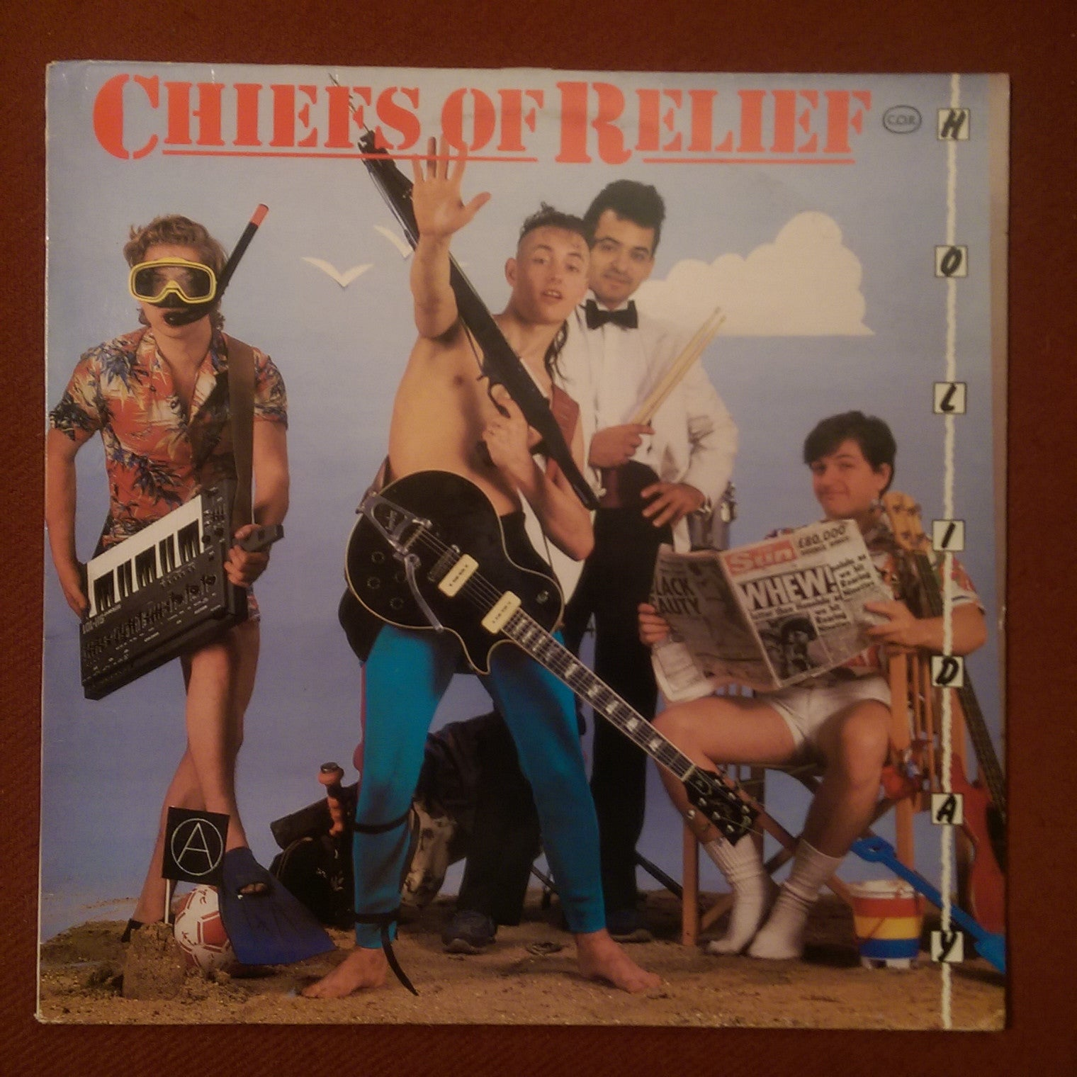 "Chiefs Of Relief - Holiday 12"" SINGLE"