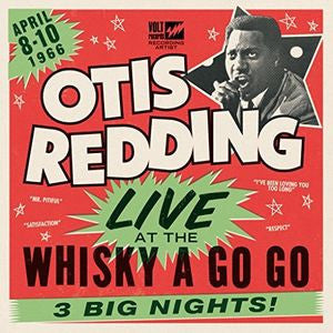 Otis Redding - Live At The Whiskey A Go Go 2X LP