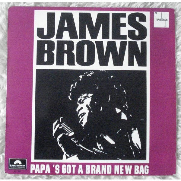 James Brown - Papa's Got A Brand New Bag LP 7/31