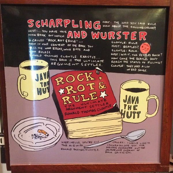 Scharpling And Wurster - Rock, Rot And Rule LP - Red Vinyl RSD 2014 - New Sealed