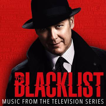 OST - The Blacklist LP (Red Vinyl) w/ Decoder Ring