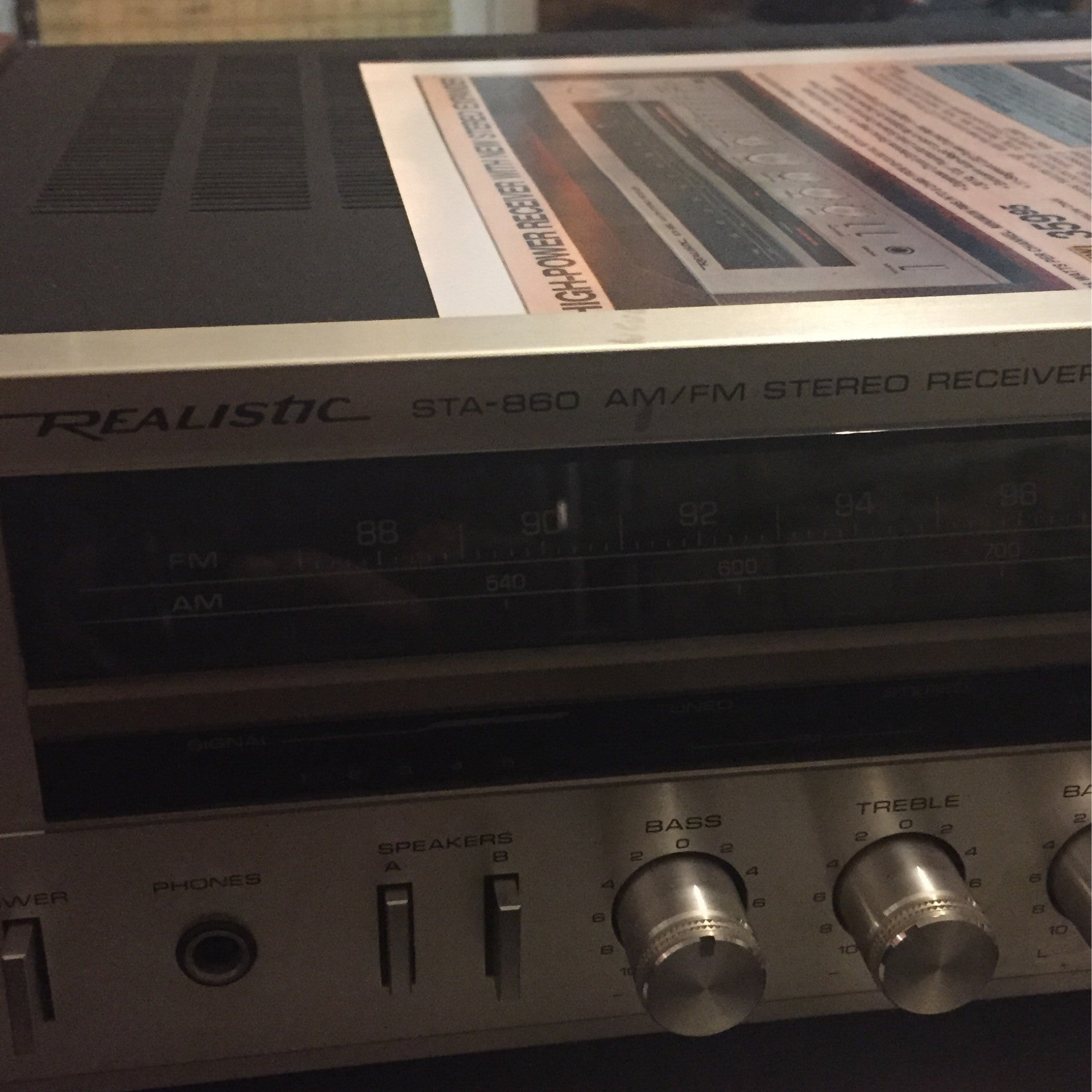 Realistic STA - 860 Stereo Receiver